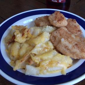 Gluten-Free Mac & Cheese Plus ChickenFingers