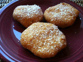 Gluten-Free Thanksgiving Recipes III: Sweet Potato Fritters