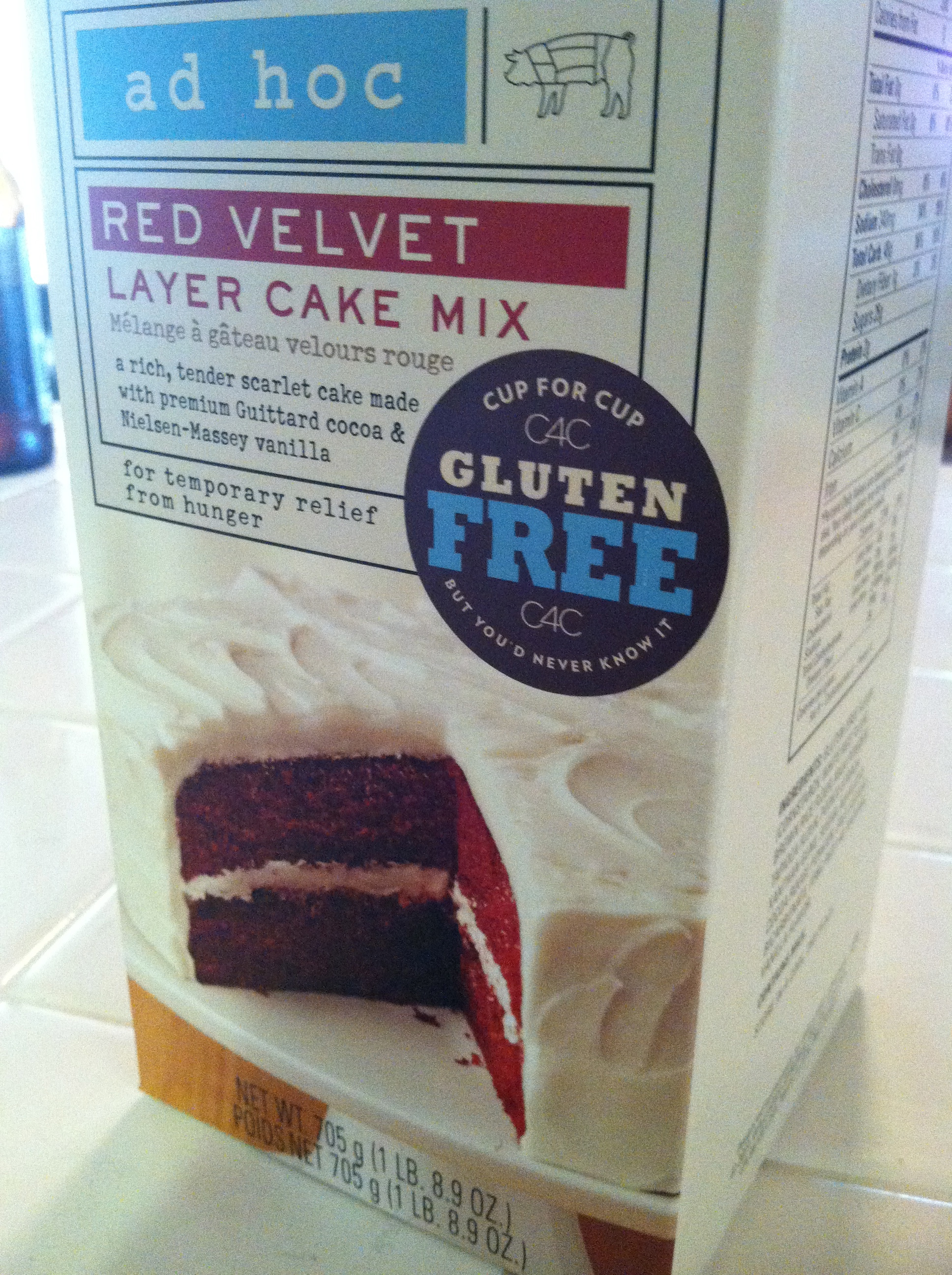 Red Velvet Cake For Your Gluten Free Mother Gluten Is My Bitch