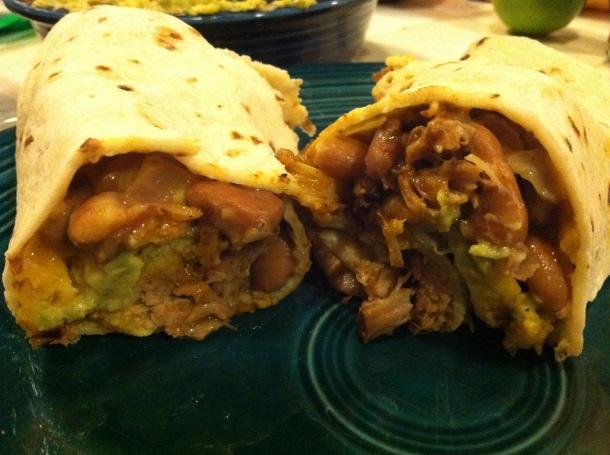 gluten-free burrito