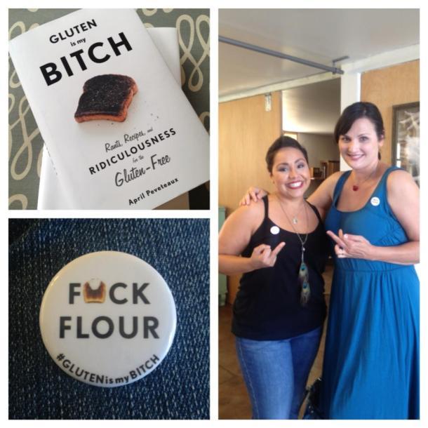 gluten-free book tour