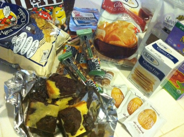 gluten-free travel snacks