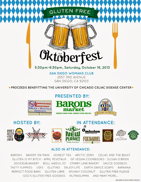 gluten-free oktoberfest