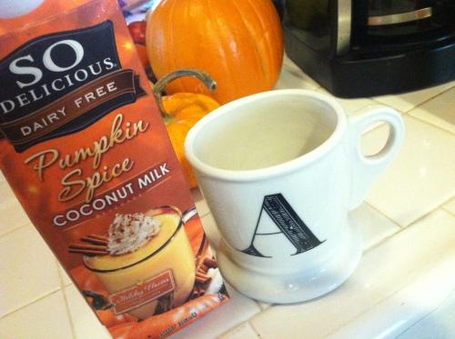 gluten-free dairy free pumpkin spice latte