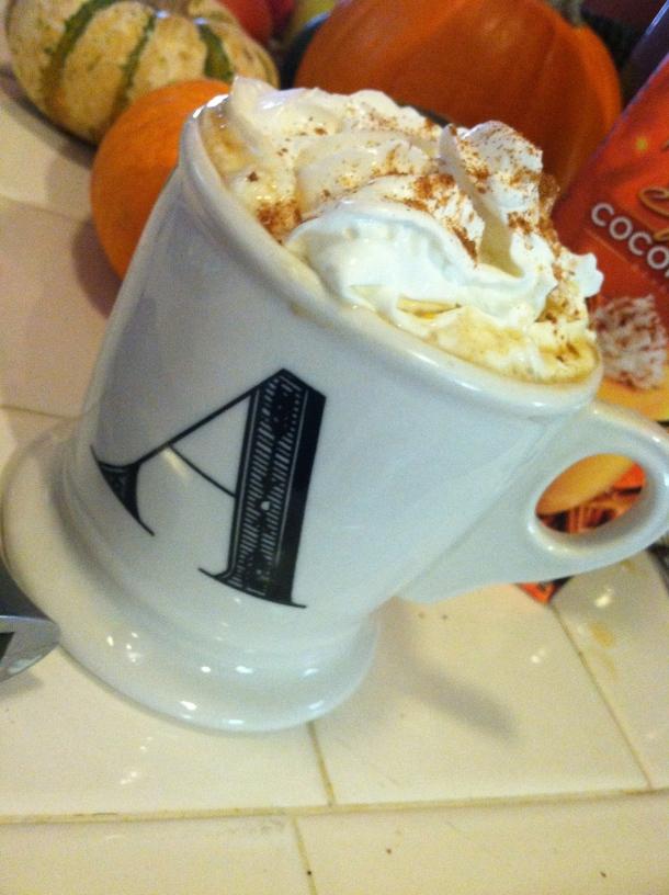 gluten-free dairy-free pumpkin spice latte