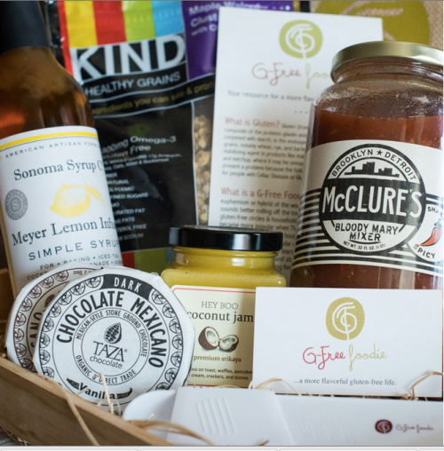 g free foodie box
