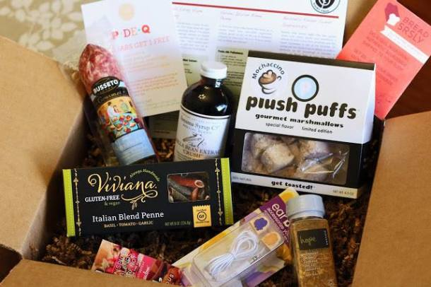 gluten-free foodie box giveaway