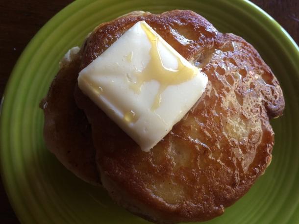 gluten-free, dairy-free, egg-free pancakes