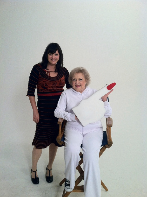 Betty White totally knows how to go g-free