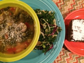 It's a Gluten-Free Kale Dinner for Food Day2015!