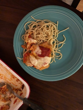Gluten-Free Chicken Parmesan For Dummies (AKA, Me)